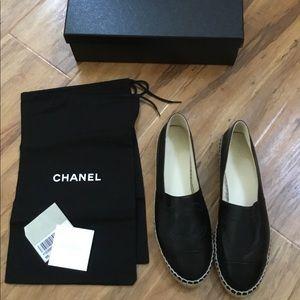 Brand New Chanel Espadrilles 38